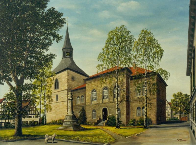 Altes Amtsgericht Blomberg ÖlLw 80x60 März 1988