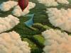 Wolkenreise klein ÖlLw 40x60 März 1993