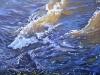 Am Fluss  40x40 ÖlLw Februar 2009