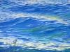 Forelle in Blau 80x60 ÖlLw 80x60 Februar 2011