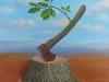 Ausweg ÖlLw 70x70 Februar 2013-Auch wenn wir den letzten Baum gefällt haben, wird die Natur Wege finden, die unseren Horizont bei weitem übersteigen.