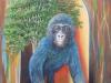 Wächter des Waldes Öl/Lw 70x50 cm Februar 2015