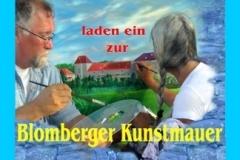 Fotos der Kunstmauer Blomberg