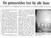 Lippische Landeszeitung Januar 2002