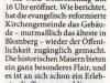 Lippische Landeszeitung Dezember 2009