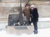 Gina und ich vorm Stephansdom in Wien