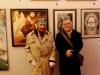 Mit Professor Ernst Fuchs im Phantasten-Museum in Wien unter meinem Bild Auswuchs