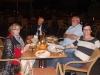 Pizzaessen mit Uta Saabel und Prof. Ernst Fuchs und Inga