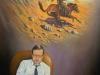 Der Karl May Freund Öl/Lw 80cm x 60cm